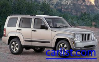 2008 Jeep Liberty from the front
