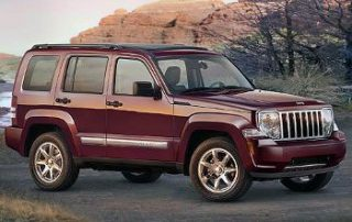 2008 Jeep Liberty sport in its native enviroment