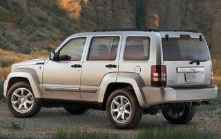 2008 Jeep Liberty sport from the side