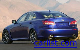 2008 Lexus IS F from the side
