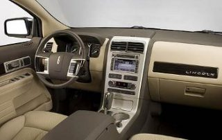 2007 Lincoln MKX front seats
