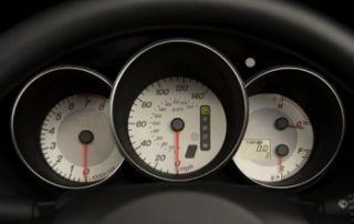 the eye-popping instrument cluster