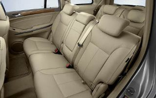 With 7 total seats, this SUV has plenty of room.