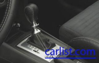 2008 Mitsubishi Lancer Evolution X center console