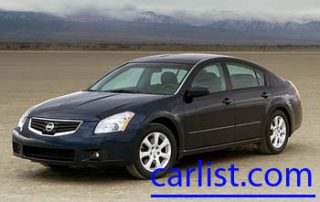 2008 Nissan Maxima front view