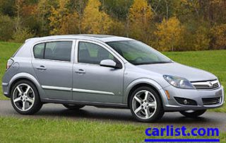 2008 Saturn Astra front view