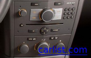 2008 Saturn Astra XE center console