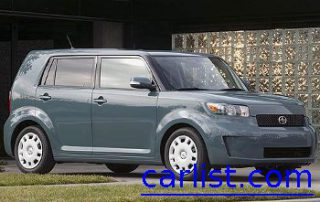2008 Scion xB from the front