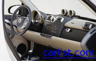 2007 smart fortwo with the smooth dashboard