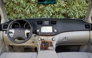 2008 Toyota Highlander Sport front seats in all their glory