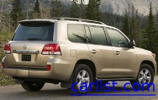 2008 Toyota Land Cruiser side shot