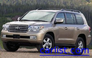 2008 Toyota Land Cruiser front view