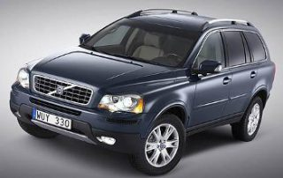 2007 Volvo XC90 from the front