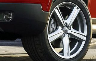 2007 Volvo XC90 wheel detail