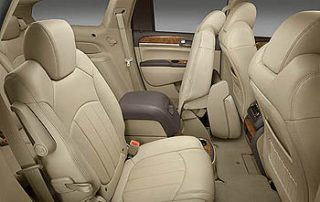 2008 Buick Enclave back seat