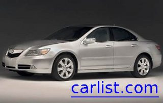 2009 Acura RL front view