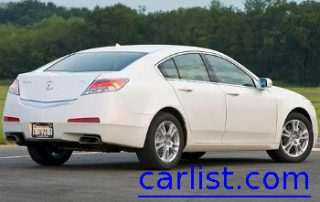 2009 Acura TL Sedan from the side
