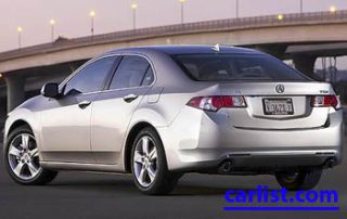 2009 Acura TSX rear shot