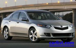 2009 Acura TSX front view