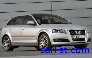 2009 Audi A3 front view