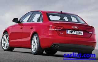 2009 Audi A4 Sedan from the back