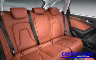 2009 Audi A4 sleek seats