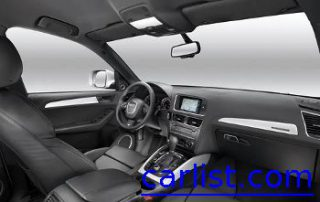 2009 Audi Q5 spacey front seats