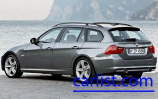 2009 BMW 335d Wagon from the side