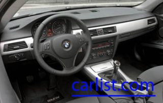 2009 BMW 335d Wagon interior