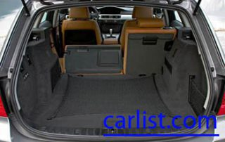 2009 BMW 335d Wagon has a large cargo space