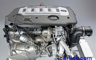 2009 BMW 335d engine