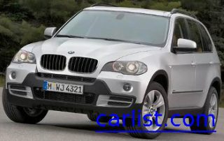 2009 BMW X5 front view