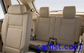 2009 BMW X5 has a huge back seat