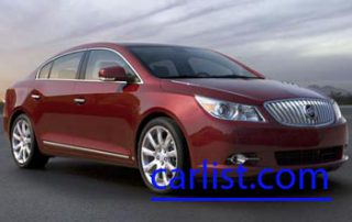 2010 Buick LaCrosse front view