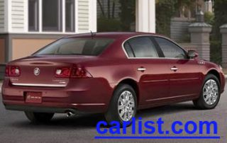 2009 Buick Lucerne Sedan rear shot