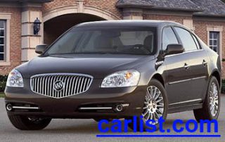 2009 Buick Lucerne Sedan front view