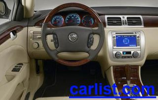2009 Buick Lucerne Sedan interior