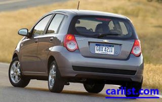2009 Chevrolet Aveo5 rear shot