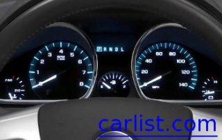 2009 Chevrolet Traverse LTZ gauge display