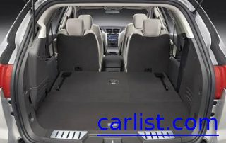2009 Chevrolet Traverse LTZ has a lot of cargo space