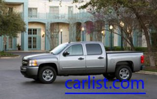 2009 Chevrolet Silverado Hybrid side view