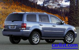 2009 Chrysler Aspen Hybrid SUV rear shot