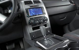 the charger console