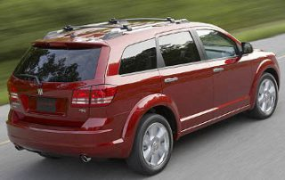 2009 Dodge Journey from the side