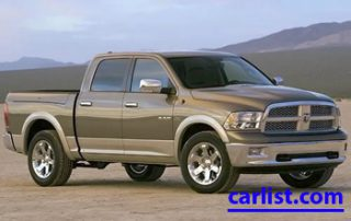 2009 Dodge Ram front view