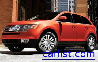 2009 Ford Edge front view