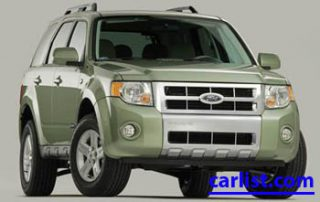 2009 Ford Escape Hybrid CUV front view