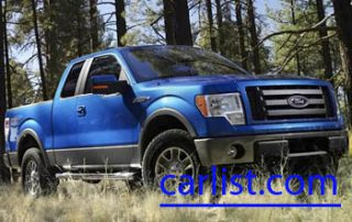 2009 Ford F-150 V8 front view