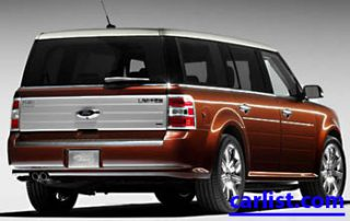 2009 Ford Flex from the back