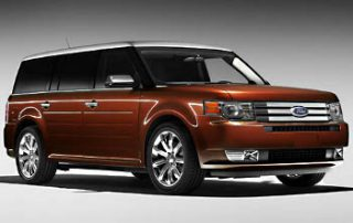 2009 Ford Flex from the front